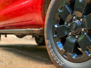Ford Ranger FX4 tires