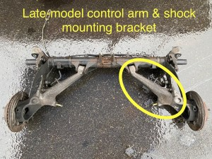 late model 944 control arm