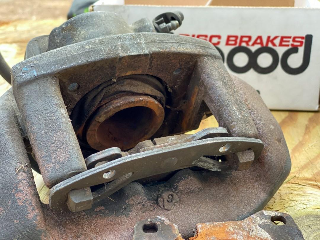 Porsche 944 brake caliper
