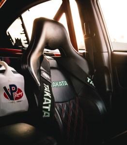 takata race seats harnesses