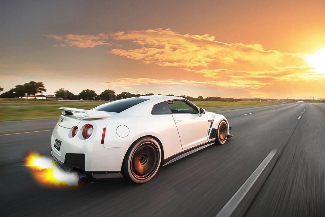 Fast Nissan GTR