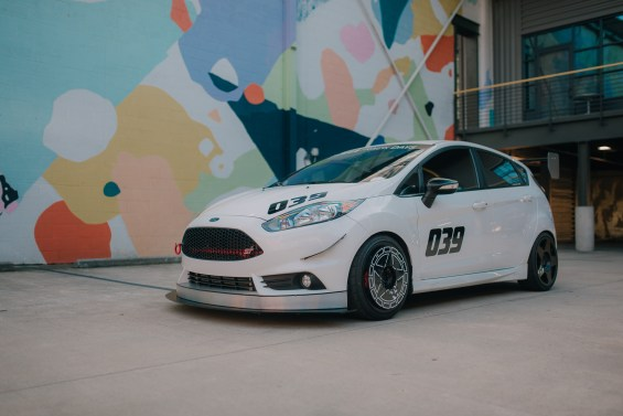 Fiesta ST BC Racing coilovers