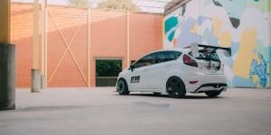 white Fiesta ST