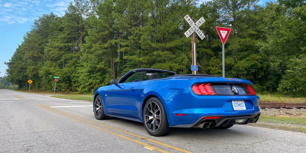 Ecoboost Ford Mustang Convertible