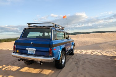 Jeep roof rack