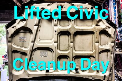 Lifted Civic Update #5: CR-V Engine is OUT, Civic Swap Prep