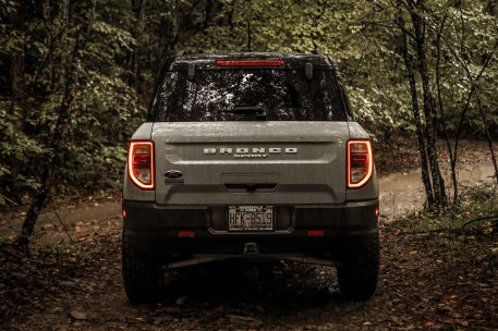 Bronco Sport Rear