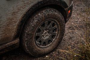 Bronco Sport Method Wheel Close Up
