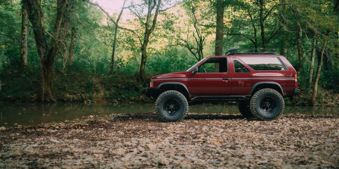 solid axle Nissan pathfinder
