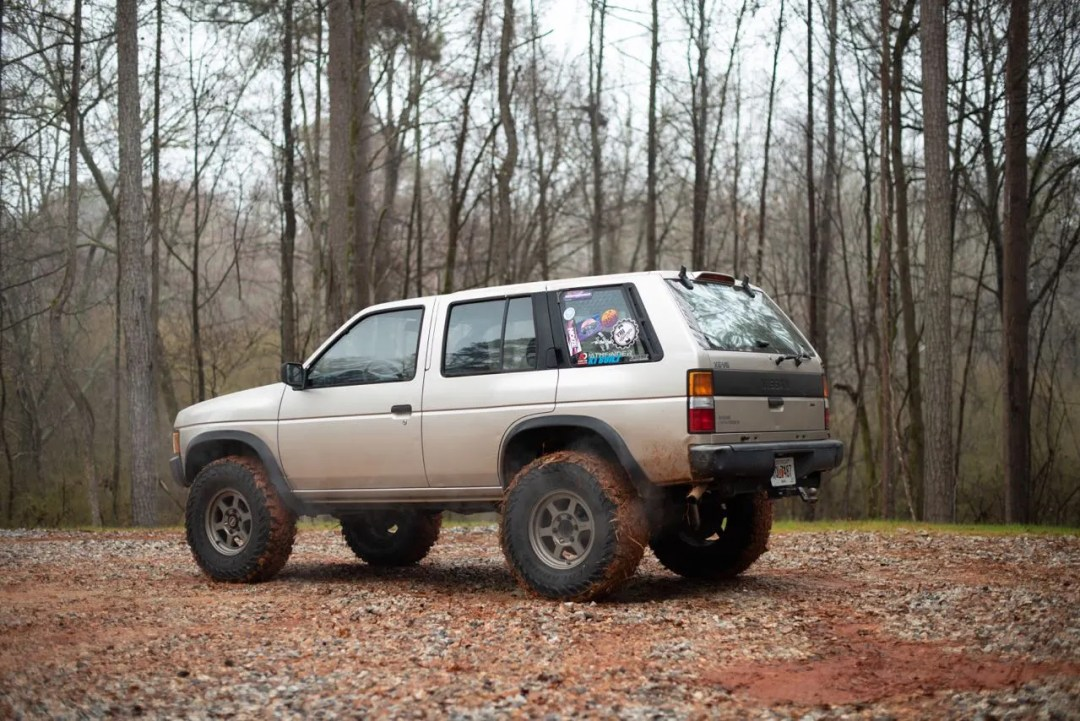 lifted D21 pathfinder