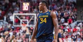 WVU's Oscar Tshiebwe enters name in 2020 NBA Draft