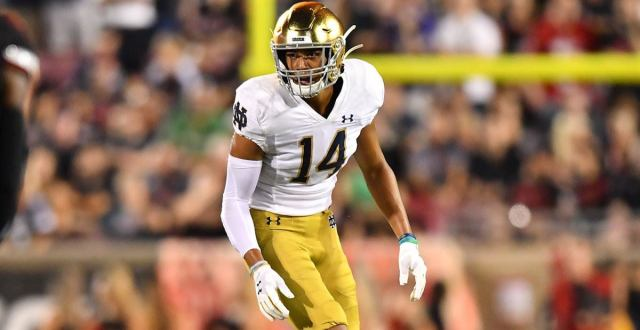 Kyle Hamilton is the best safety in our preseason top prospects.