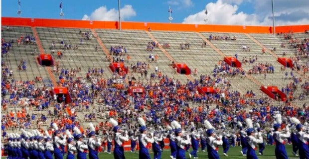 The Stands Look Light At Colorado State Florida Game