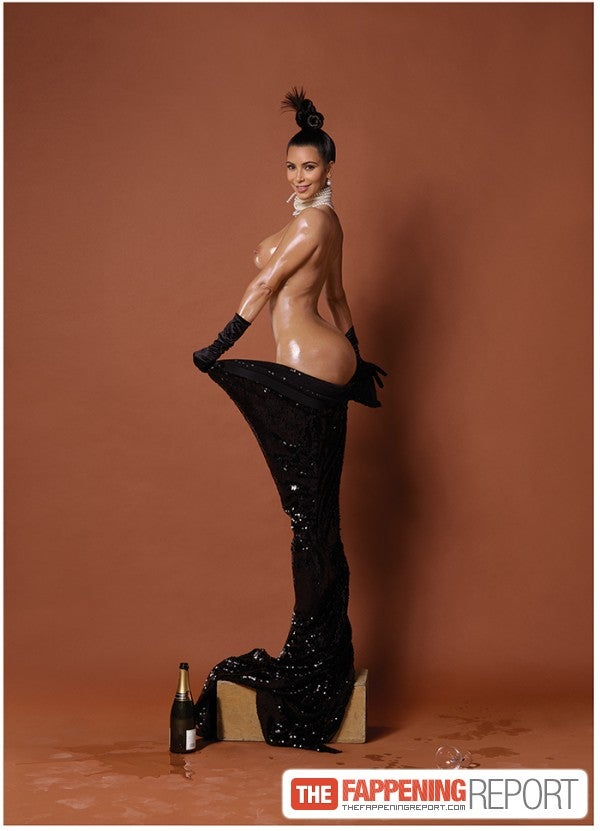 Have You Seen How Kim Kardashian Bares Her Butt After Kim Kardashian Sex Tape Kimkardashianuncut Com Made Her So Famous On The Whole World It
