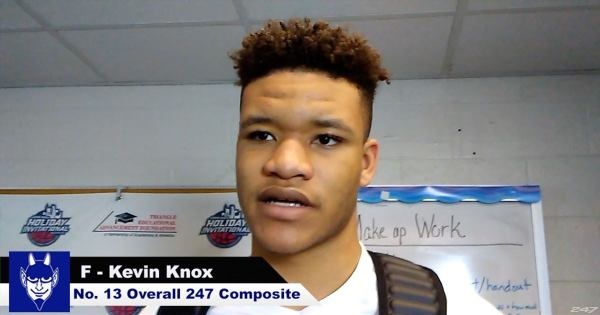 WATCH: Kevin Knox Talks Recruiting
