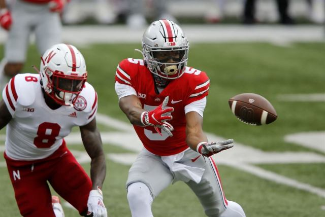 Garrett Wilson, Ohio State, Wide Receiver - top 5s