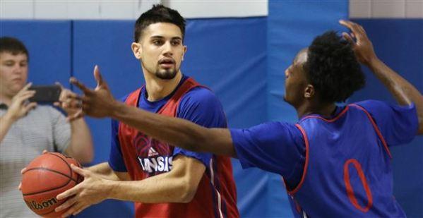 Photo gallery: KU men's basketball camp scrimmage (June 5)
