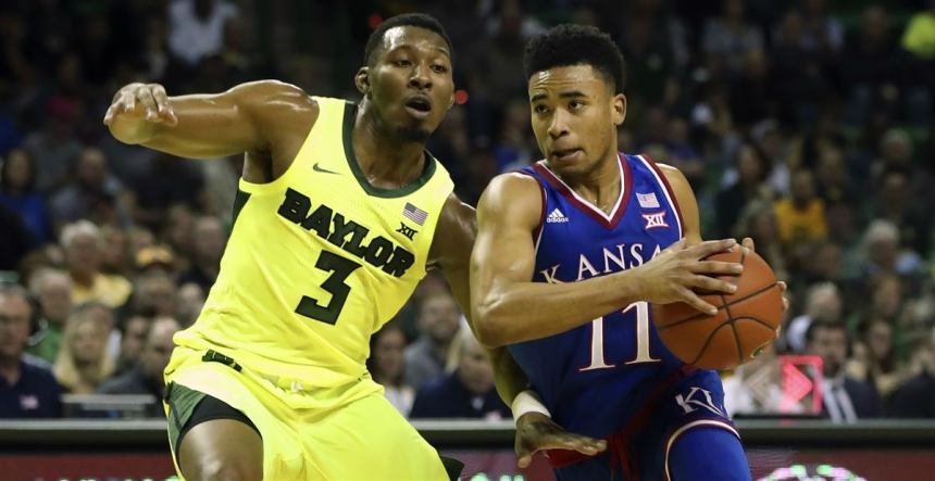 Image result for baylor vs kansas basketball