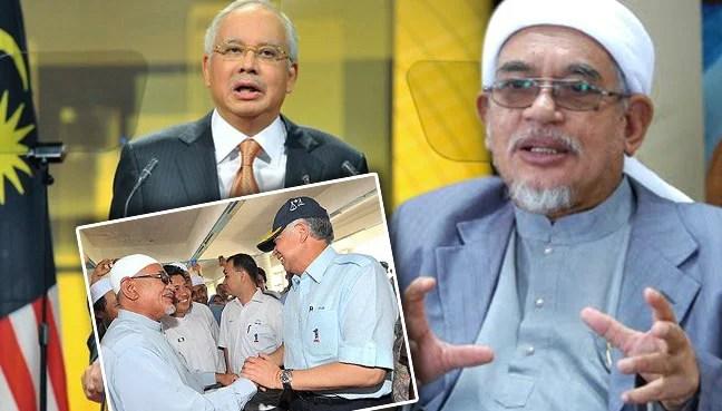 Image result for Najib and Hadi