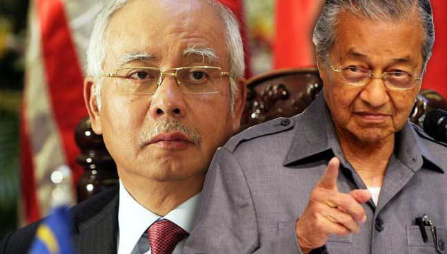 Image result for Mahathir and Najib