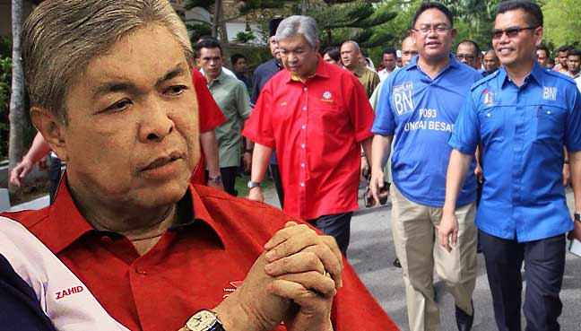 Image result for The Racist Zahid Hamidi
