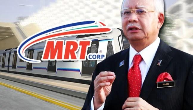 Image result for MRT Najib