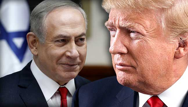 Image result for trump israel netanyahu