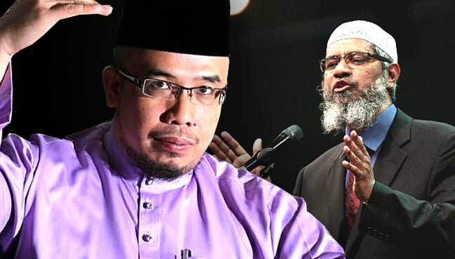 Image result for dr. asri and zakir naik