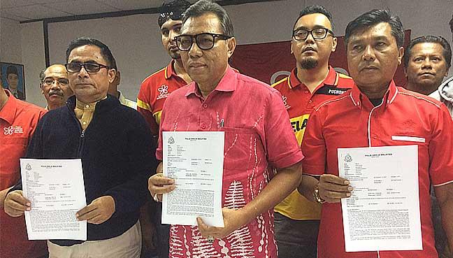 PPBM Selangor membuat laporan polis menggesa pihak berkuasa menyiasat kerugian wang sebanyak RM160 bilion antara tahun 2013 hingga 2015.