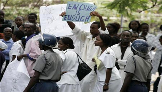 See the soChitungwiza council nurses down toolsurce image