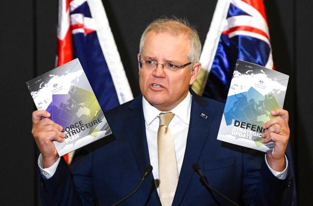Australia's Morrison makes Indo-Pacific alliance a 'critical ...