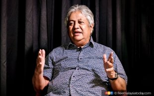 Zaid, once strong Umno, is now joking