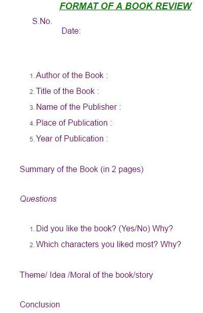 how to write a book review # 45
