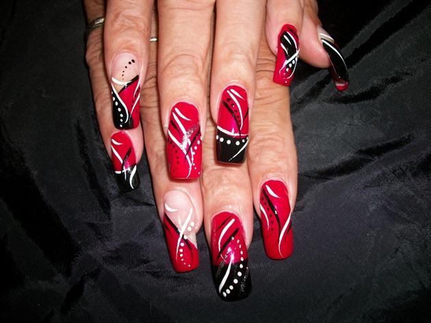 Black White Red