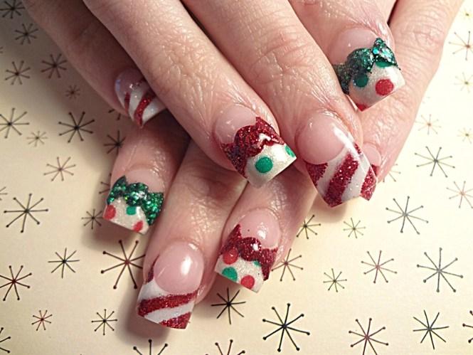3d Christmas Nail Art Gallery