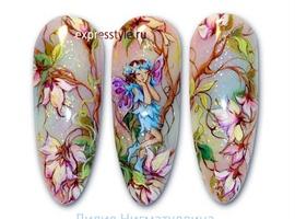 nail art: Fairy