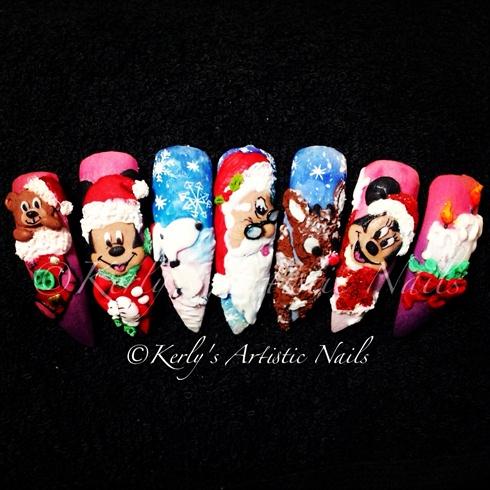 Prev Next Sti Nails Christmas