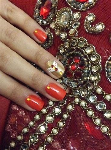 Ornamented Nail Art Designs
