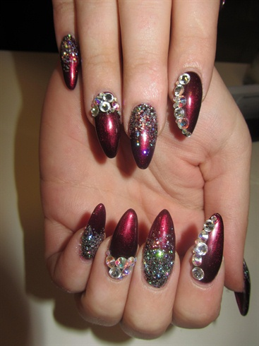 Nail Art Design Pretty Nails Red Trend Fall