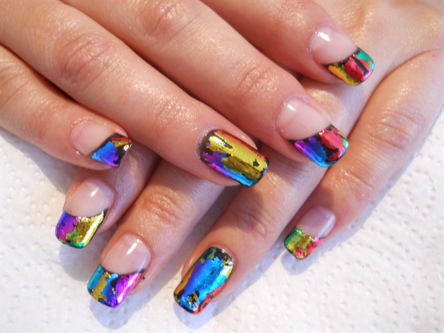 Magic Gel Tips With Foil