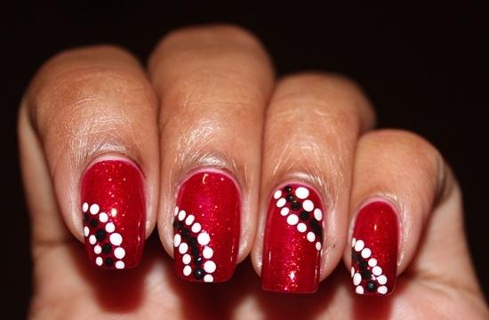 Red Trini Nails