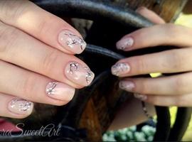 Cherry Blossom Tree Nails