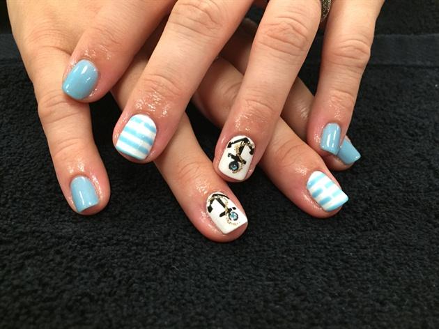 Baby Boy Blue Nails