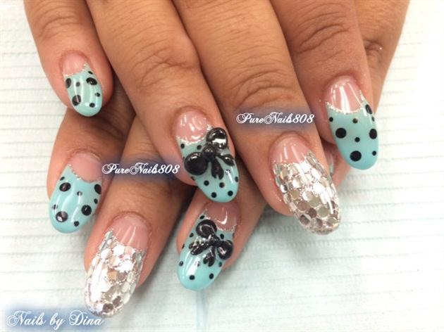 Tiffany Blue Nails Trump Gel Usa