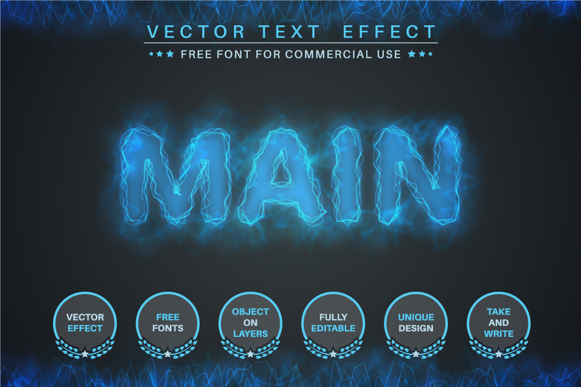 Cosmos Scene - Editable Text Effect, Font Style, Graphics Illustration