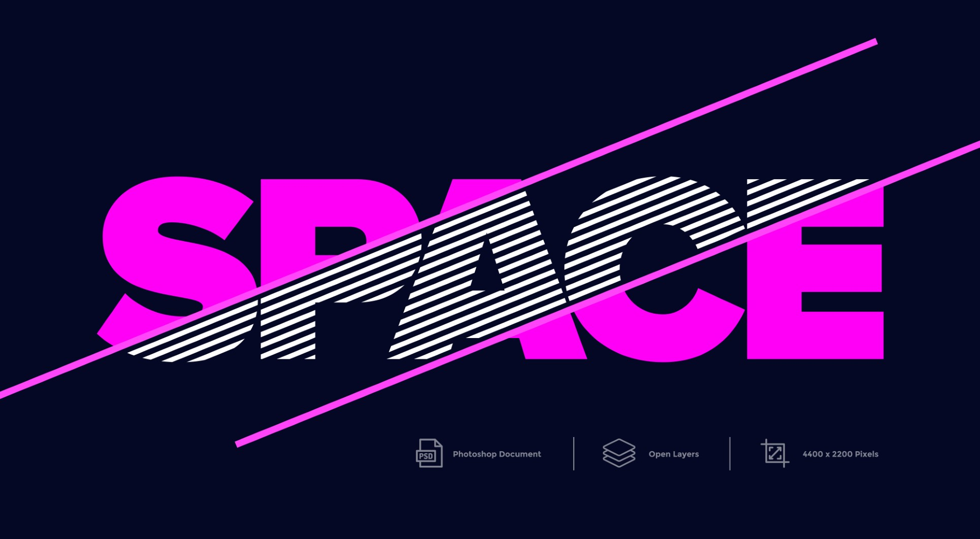 Space Photoshop Text Effect And layer Style