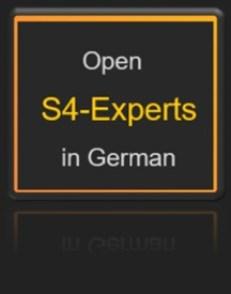 Startseite Willkommensseite S4-Experts in German auf Deutsch