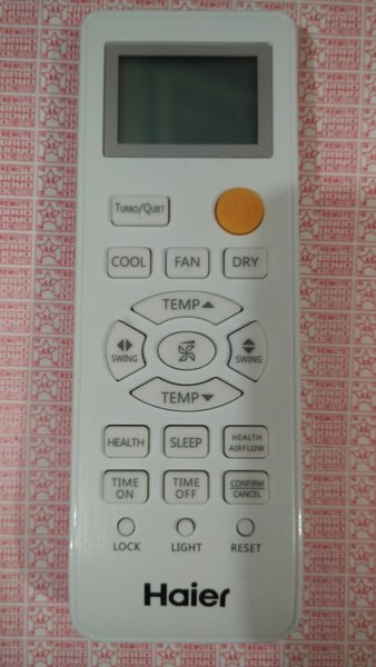 Remote AC HAIER ORIGINAL