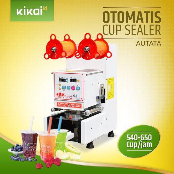 Mesin Cup Sealer Otomatis Autata