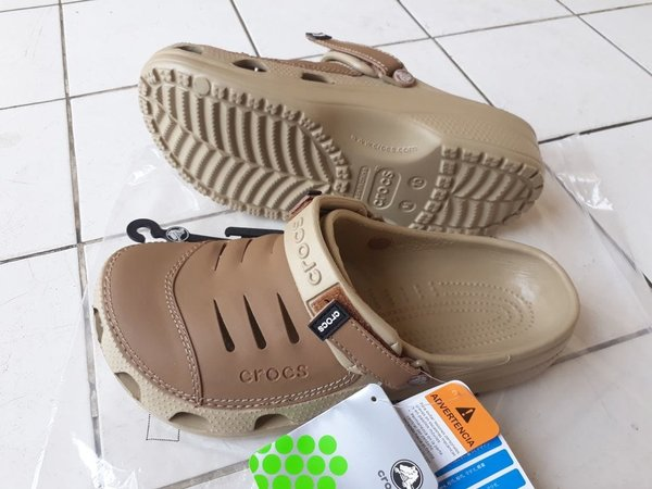 HOT PROMO Sandal Sepatu Crocs Men Yukon Leather